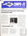 Compu-tel : a state publication for North Carolina's computer and telecommunications professionals...
