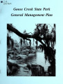 General management plan for Goose Creek State Park