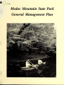 General management plan for Medoc Mountain State Park