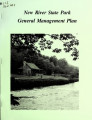 Draft general management plan for New River State Park