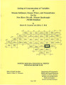 Listing of concentrations of variables of stream sediment, stream water, and groundwater for the...