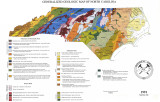 Generalized geologic map of North Carolina