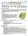 Protecting trout waters of North Carolina