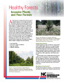 Healthy forests : invasive plants and your forests