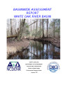 Basinwide assessment report : White Oak River Basin
