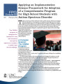 Applying an implementation science framework for adoption of a comprehensive program for high...