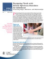 Equipping youth with autism spectrum disorders for adulthood : promoting rigor, relevance, and...