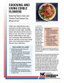 Choosing and using edible flowers : enjoy the flavor, color, and texture that flowers can bring to...