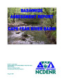 Basinwide assessment report : Cape Fear River Basin