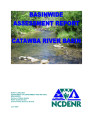 Basinwide assessment report : Catawba River Basin