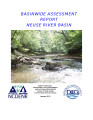 Basinwide assessment report : Neuse River Basin