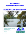 Basinwide assessment report : Pasquotank River Basin