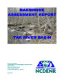 Basinwide assessment report : Tar River Basin