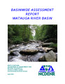 Basinwide assessment report : Watauga River Basin