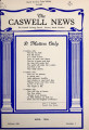 Caswell news [April 1956]