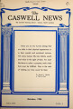 Caswell news [October 1954]