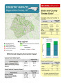 Forestry impacts : Edgecombe County, NC, state and county data [2014], Forestry contributions