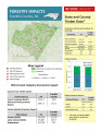 Forestry impacts : Franklin County, NC, state and county data [2014], Forestry contributions