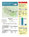 Forestry impacts : Martin County, NC [2014], Forestry contributions : Martin County, NC