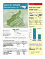 Forestry impacts : McDowell County, NC [2014], Forestry contributions : McDowell County, NC
