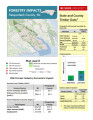 Forestry impacts : Pasquotank County, NC, state and county data [2014], Forestry contributions