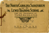 North Carolina Sanatorium and the Lewis Training School for the treatment of tuberculosis :...
