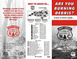Are you burning debris? : learn to burn safely