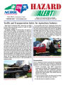 Traffic and transportation safety for agriculture industry