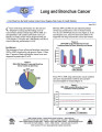 Lung and bronchus cancer : a fact sheet from the North Carolina Central Cancer Registry, State...