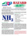 Ammonia refrigeration systems : process safety management is vital to employee safety