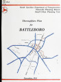 Thoroughfare plan for Battleboro, North Carolina
