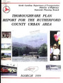 Rutherford County urban area thoroughfare plan
