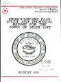 Siler City thoroughfare plan technical report