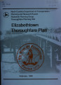 Elizabethtown thoroughfare plan