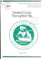 Cleveland County thoroughfare plan