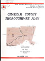Chatham County thoroughfare plan