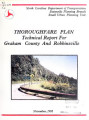 Graham County thoroughfare plan technical report including Robbinsville