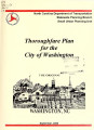 City of Washington thoroughfare plan