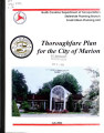 City of Marion thoroughfare plan