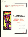 1992 thoroughfare plan for Farmville urban area