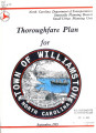 Williamston thoroughfare plan