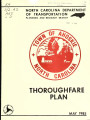 Thoroughfare plan for the Town of Ahoskie, North Carolina