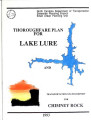 Thoroughfare plan for Lake Lure and transportation status report for Chimney Rock