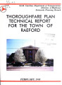 Thoroughfare plan report for Raeford, North Carolina