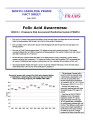 Folic acid awareness : 2008 N.C. Pregnancy Risk Assessment Monitoring System (PRAMS).
