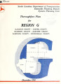 Thoroughfare plan for Region G, North Carolina