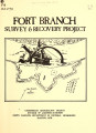 Fort Branch survey and recovery project