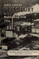 North Carolina directory of manufacturing firms [1956]