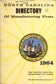 North Carolina directory of manufacturing firms [1964]