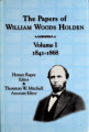 Papers of William Woods Holden
